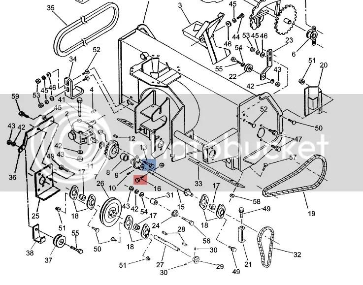 Honda Harmony 2013 Tractor Chain Lube & Shear Pins