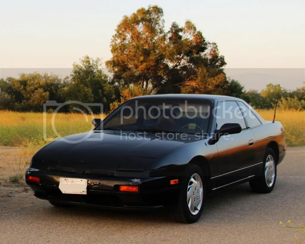 medium resolution of 1989 nissan 240sx 5 speed coupe unmolested unmodified stock