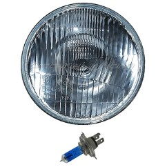 H4 Halogen Bulb Wiring Diagram Leg Venous 5 3 4 Quot Motorcycle 6v Headlight Super White
