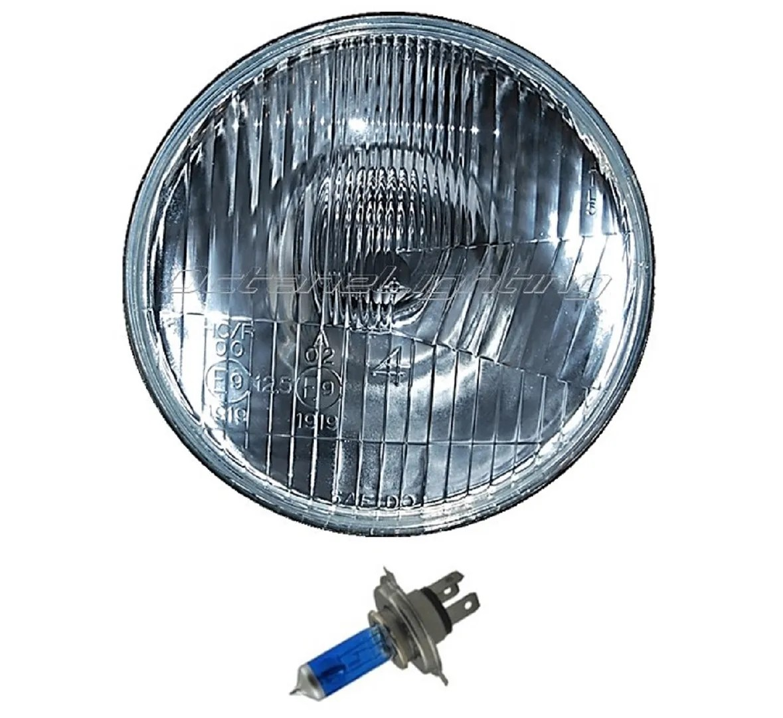 h4 halogen bulb wiring diagram 2016 subaru forester radio 5 3 4 quot motorcycle 6v headlight super white