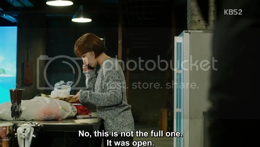 Healer ep 14 Young Shin tries to cook in fortress of soltitude