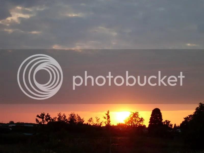 un bel tramonto a Boskoop ooooh