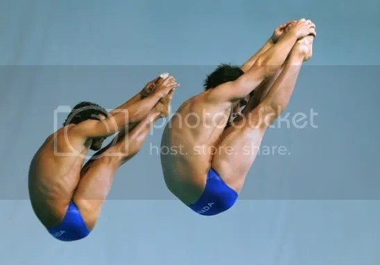 Despatie and Miranda, 3m Synchronized Medal Contenders