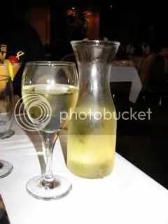 White Wine 1/2 Liter = 410 calories