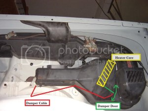 HeaterVent system and cables diagram  JeepForum