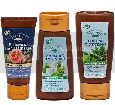 tree hut products all contain certified organic shea butter