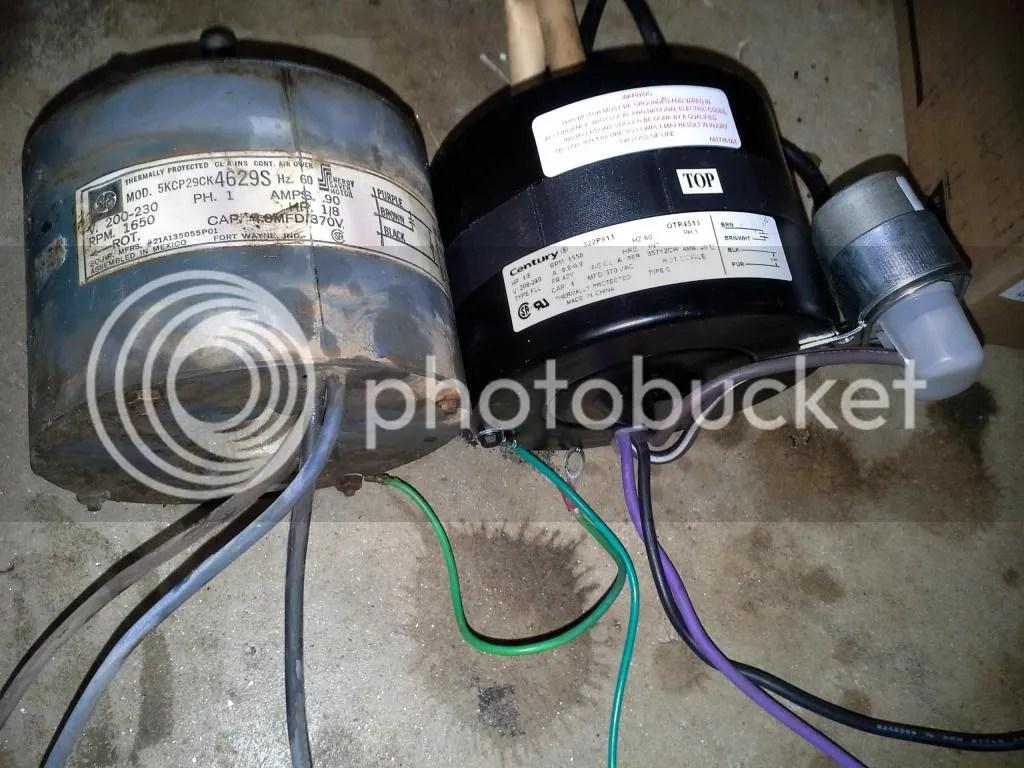 trane xe 900 air conditioner wiring diagram 2008 kia spectra stereo 800 condenser fan motor help