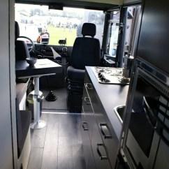 Kitchen Cart With Drawers Apron Sink Mercedes Benz Vario 814da 4×4 Now Sold | Campervanculture.com