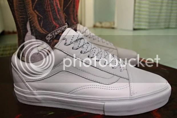 tmrsn - Vault Old Skool LX Leather White
