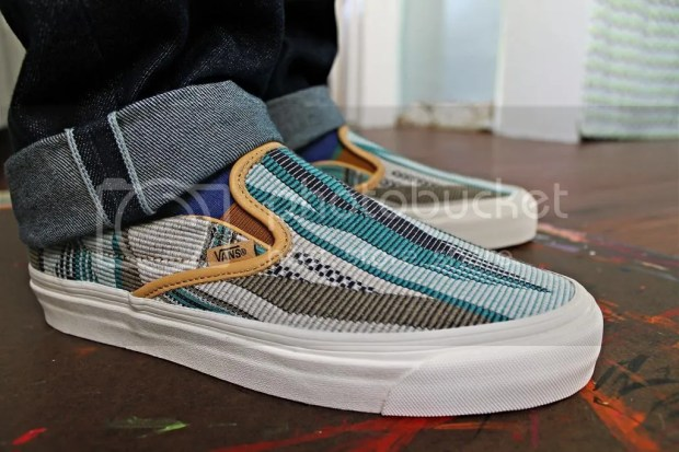 tmrsn - Vault x Taka Hayashi - TH OG Slip-On 59 LX - Chimayo Golden Brown