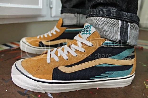 tmrsn - Vault x Taka Hayashi - TH Sk8-Mid LX - Chimayo Golden Brown