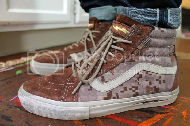 tmrsn - Vans Syndicate - SK8 Hi Notchback Pro 'S' - Defcon Brown