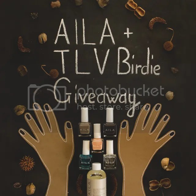 TLV Birdie Blog and Aila cosmetics giveaway