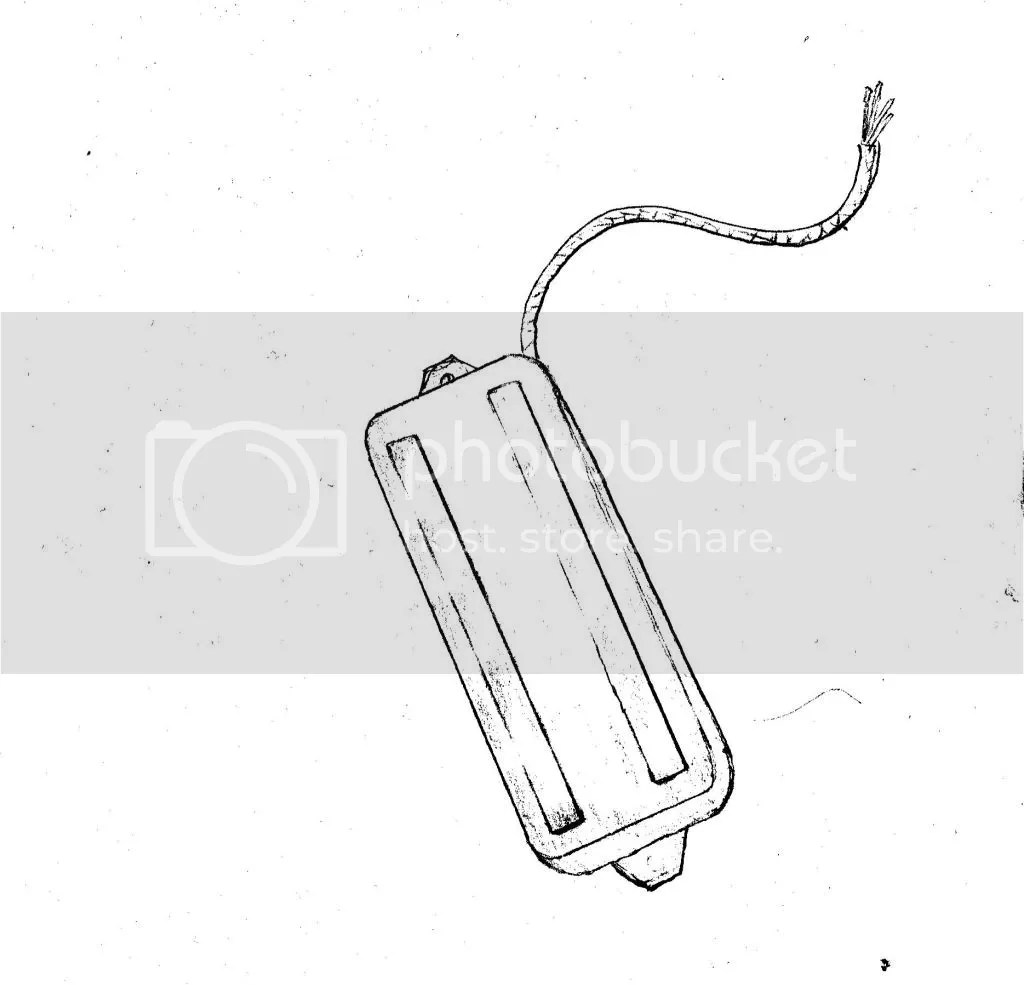 Seymour Duncan Custom P90 Slug