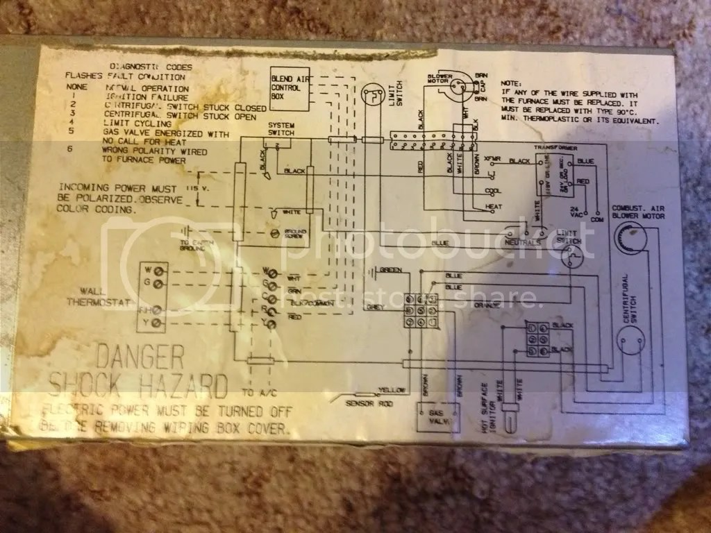 Wiring Old Home Furnace Wiring Diagrams Furnace Wiring Http