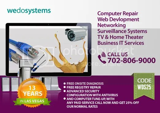 Las Vegas Computer Repair web design