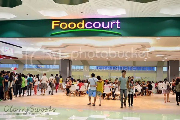The New SM City Bacolod Foodcourt