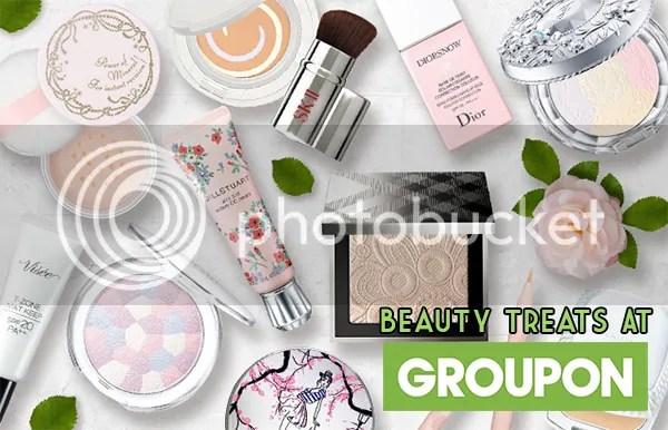 Beauty Treats At Groupon