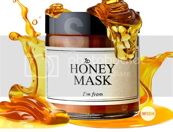 I'm From Honey Mask - Wishtrend Korean Skin Care Giveaway