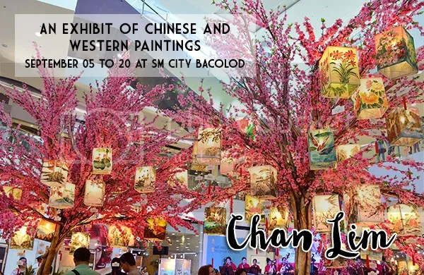 Chan Lim Chinese And Western Painting Exhibit At SM City Bacolod