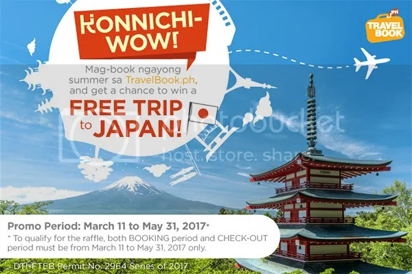Konnichi-Wow: Win A Free Trip To Japan With TravelBook.ph