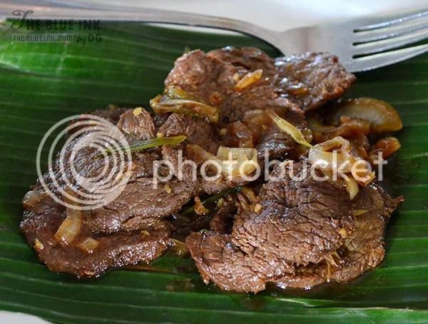 Bistek Tagalog - Delicious Native Dishes at L'Fisher Chalet Restaurant