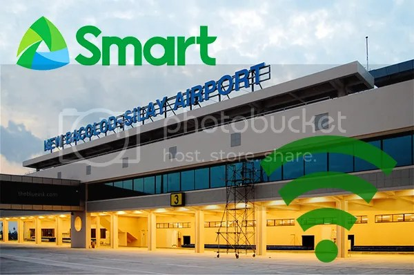 Internet Connectivity At Bacolod-Silay Airport Courtesy Of #SmartWIFI