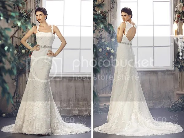 CocoMelody's Stunning Back Interest Wedding Dresses For The Beautiful Bride