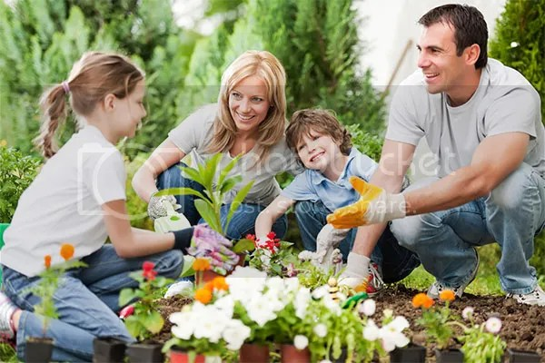 Ways To Get The Family In The Garden