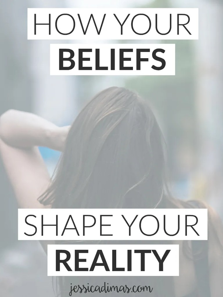 How you beliefs actually shape your reality - change your beliefs, change your life