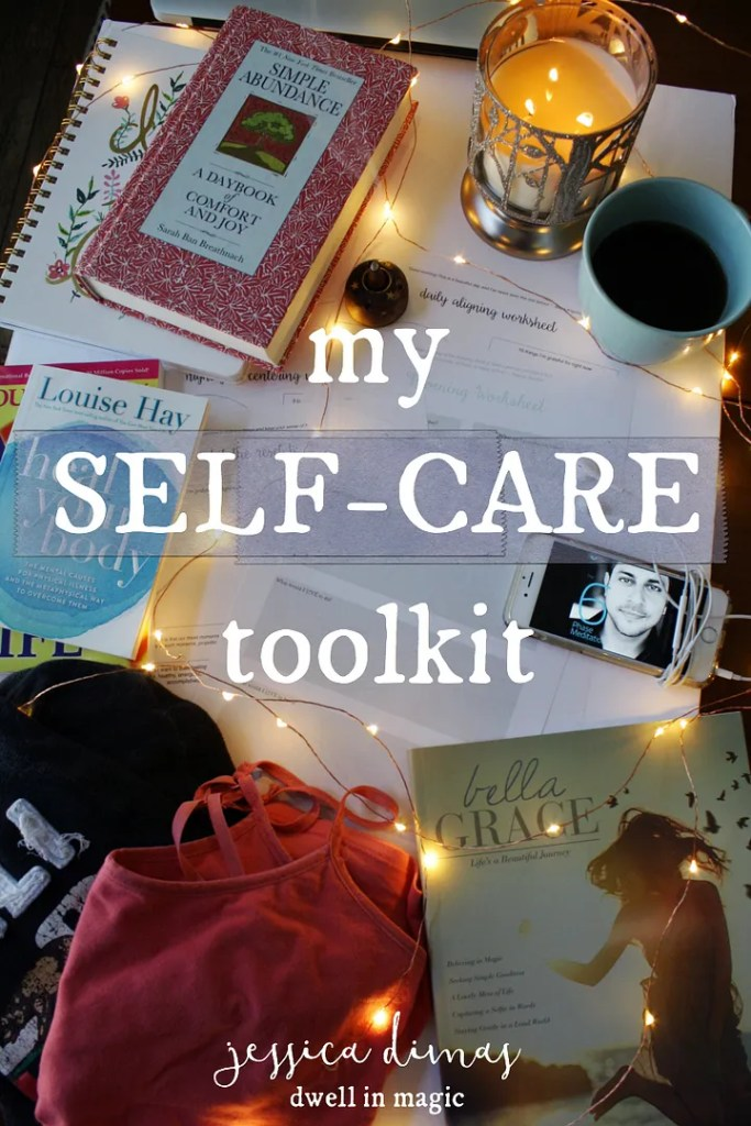 Creating your own self care kit