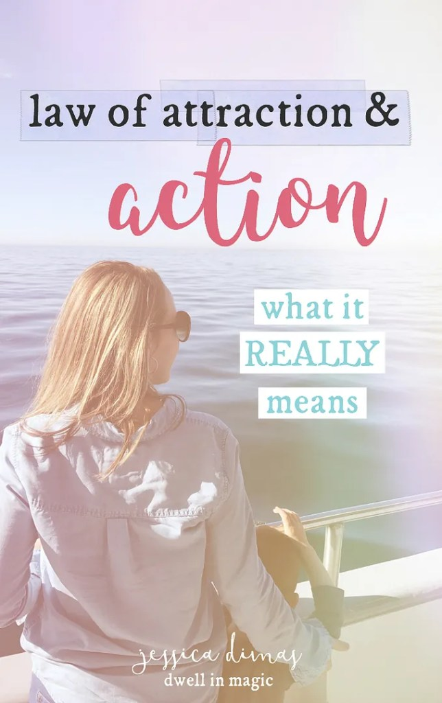 What does action mean when it comes to the law of attraction. Not what you think!