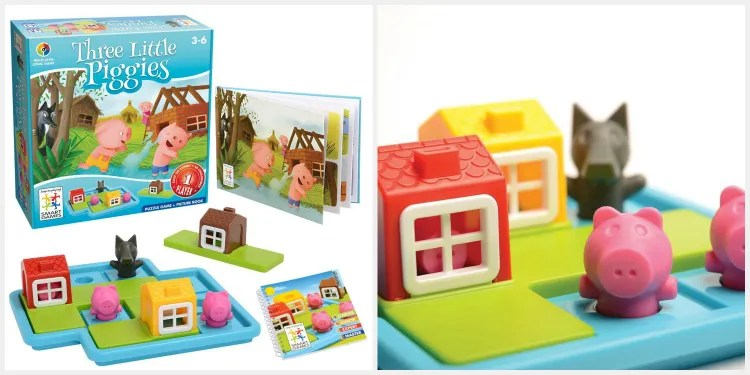 Three Little Piggies - educational gift guide for preschoolers