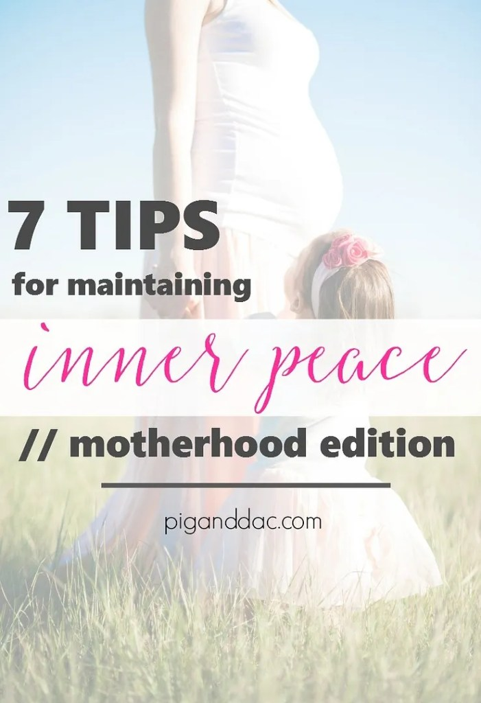 Tips for Inner Peace