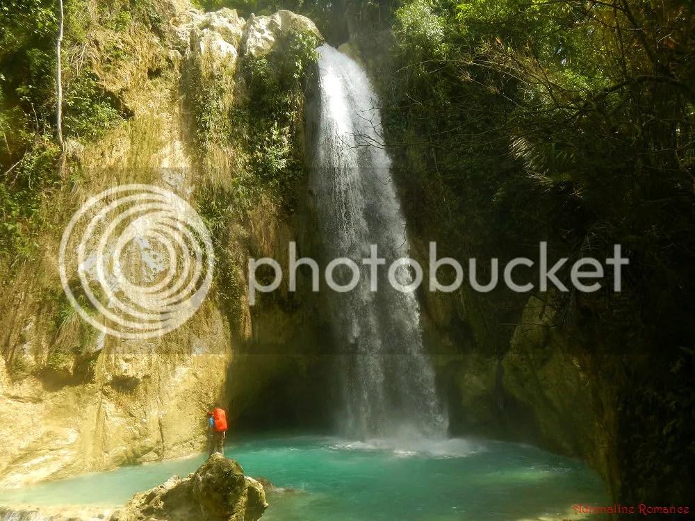 Inambakan Falls - Ginatilan, Cebu