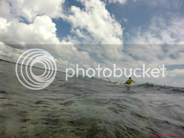 Surfing in Cloud 9, General Luna, Siargao