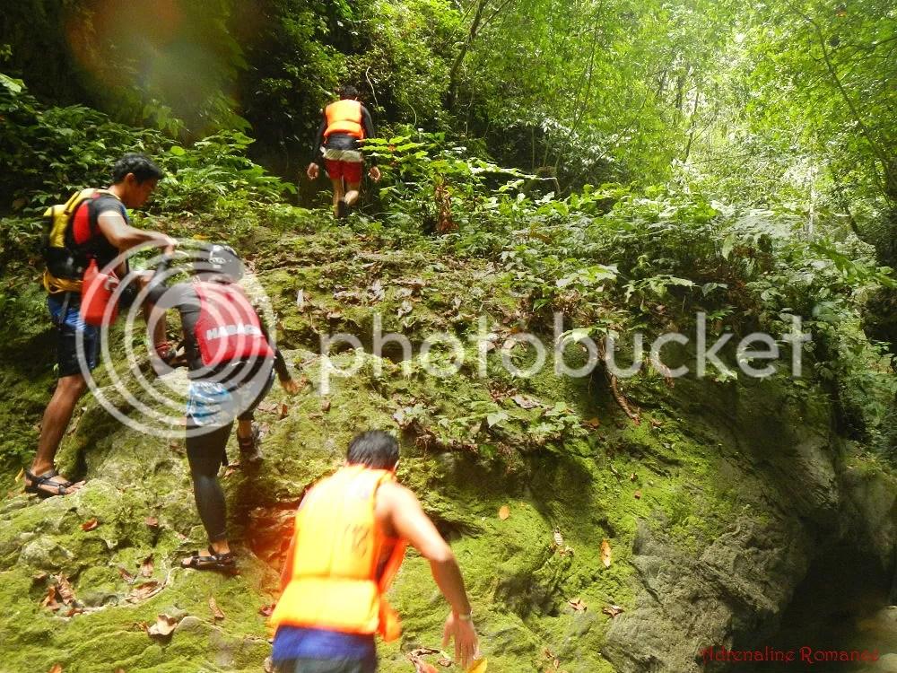Downstream Canyoneering in Badian