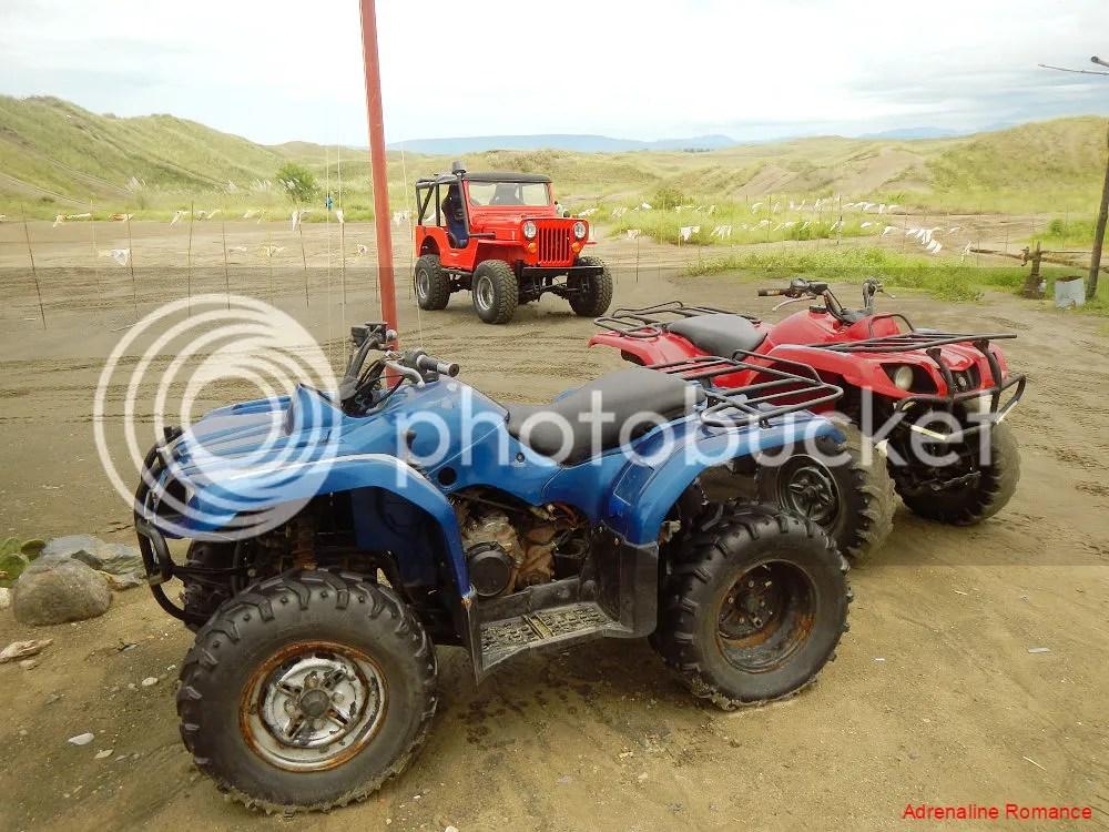 ATVs in La Paz Sand Dunes