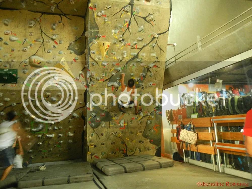 Camp Sandugo Climbing Wall