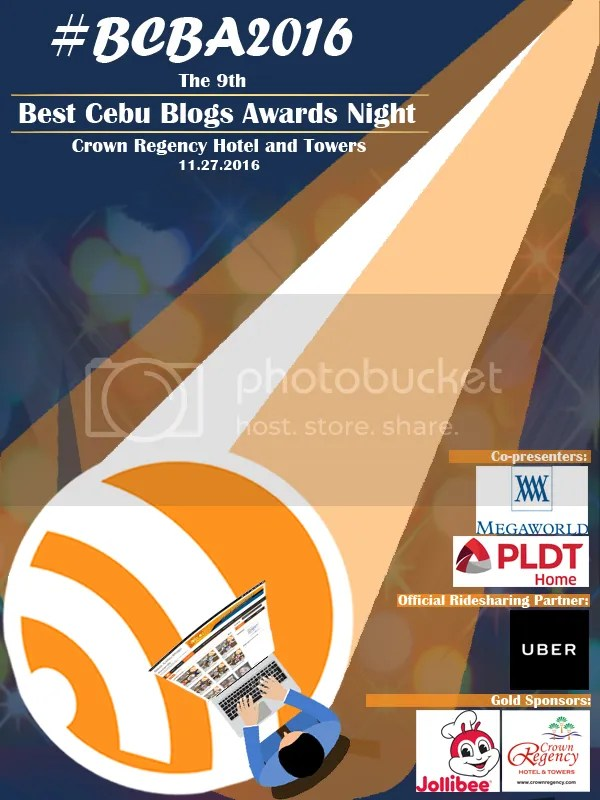 Best Cebu Blog Awards 2016 Travel Category