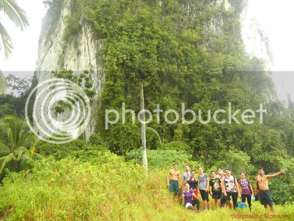 Puting Bato Limestone Monolith