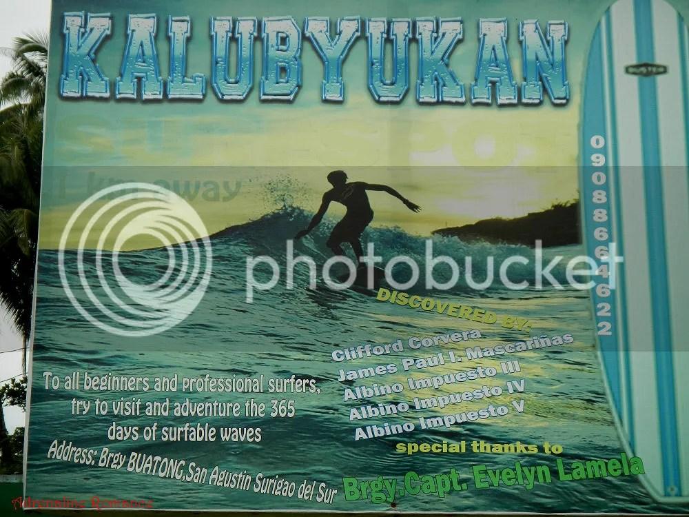Surfing in San Agustin Surigao del Sur