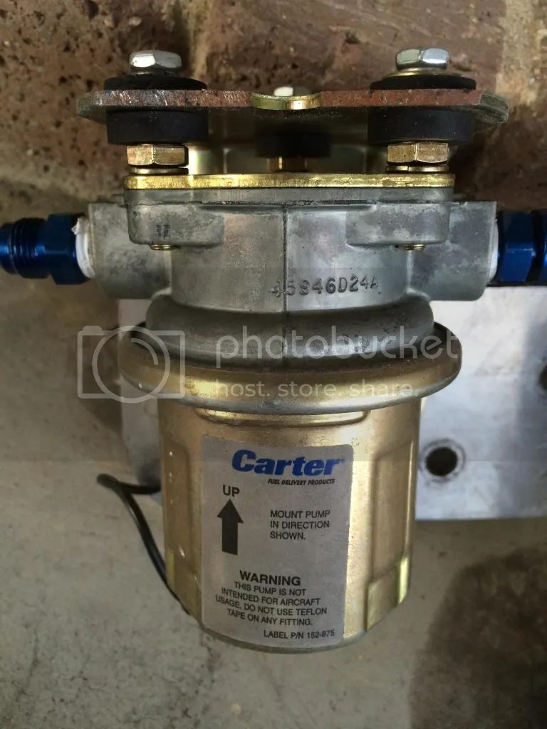 hight resolution of carter fuel pumps noisy but are they any good