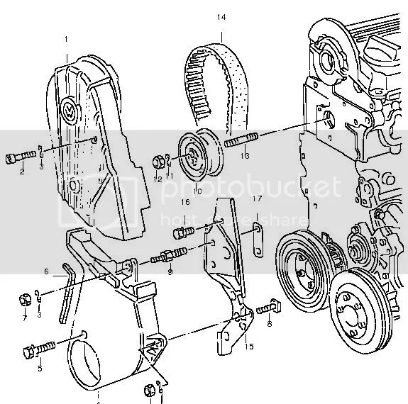 Service manual [1987 Volkswagen Gti Timing Cover Removal