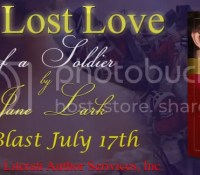 Book Blast: The Lost Love of a Soldier by Jane Lark