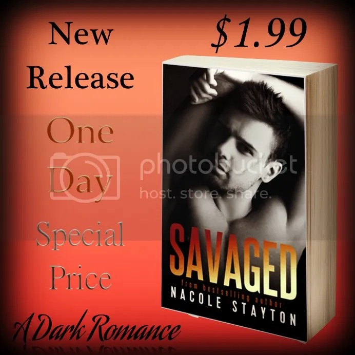 Savage Release Day Sale photo SavagedSale_zps96cf9147.jpg