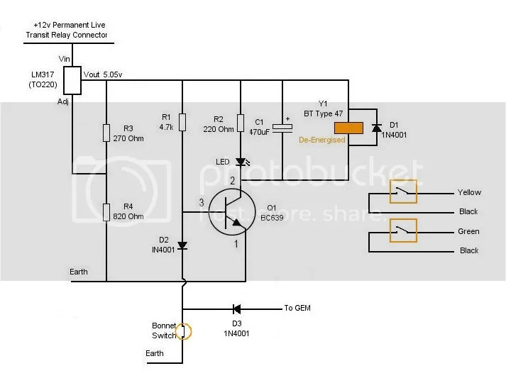 Bonnet Open Detect Circuit