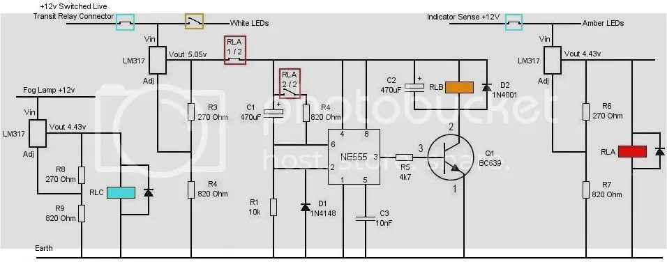 Fog Lamp DRL with Indicators