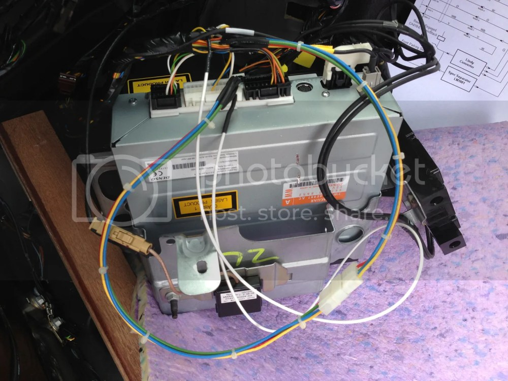 medium resolution of reinstall satnav subassembly taking care to ensure cables are not trapped between cases brackets and chassis secure the co ax removed earlier to allow
