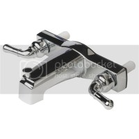 "Mobile Home Two Handle 8"" Tub Shower Faucet Diverter Chrome"